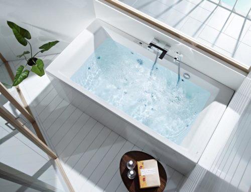 Un baño de estilo e innovación