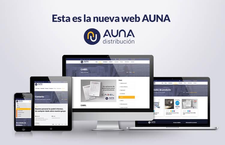 aunadistribucion web