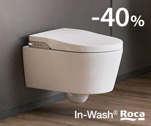 In-Wash Rimless Roca -40%